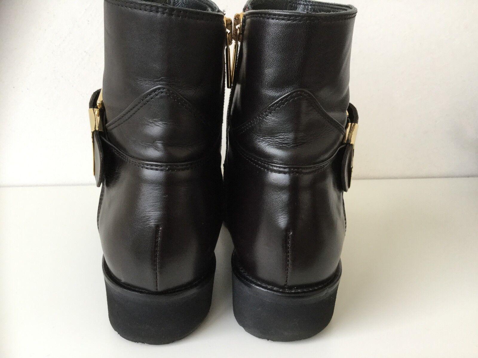 Mania Stiefeletten Stiefel  braun Damen 36 sehr sehr sehr gepflegt ba3096