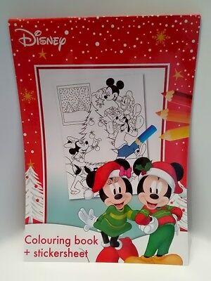 "Malbuch // Malblock Sticker /& Malblock /"" Disney Mickey Mouse /"" A5 mit Aufkl"