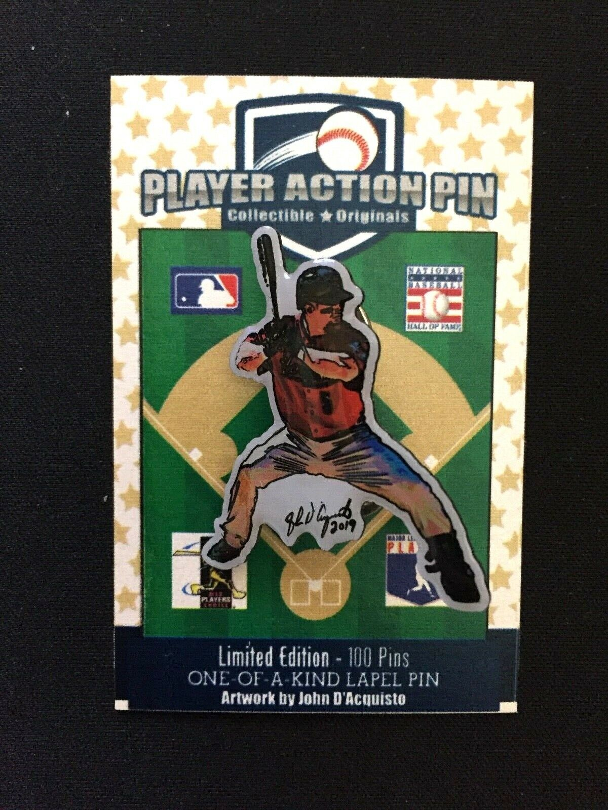 Houston Astros Jeff Bagwell jersey lapel pin-Collectible-One of the KILLER B's
