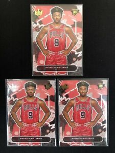 2020-21 Court Kings RC Patrick Williams Basketball Card