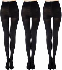 841R2 DKNY 0B693 Super Opaque Control Top Tights Black Size Tall  MSRP $15