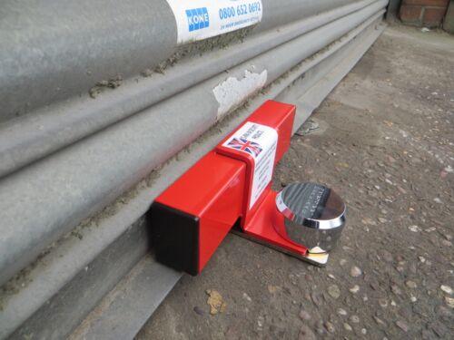 roller shutter garage door defender Security Lock Kit MADE in the UK Red
