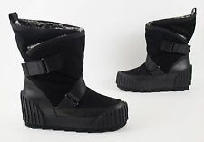 United Nude Black Water Resistant Faux Fur Snow Boots EU 40 US 9 $395