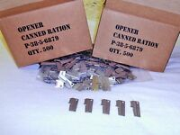 P38 Can Opener 5 Pieces Made In Usa & Original Military Issue By Us Shelby Co.