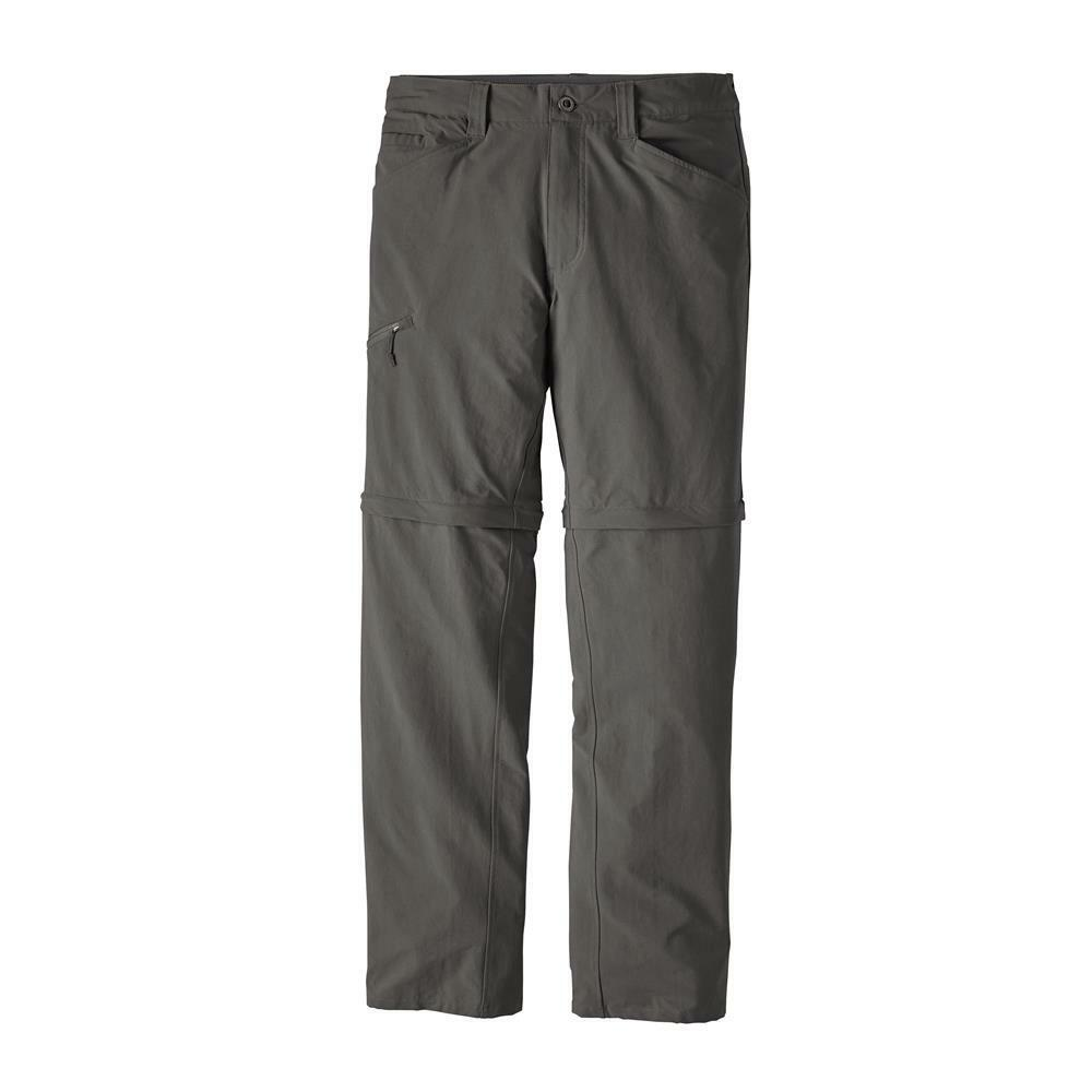 Patagonia m's Quandary Converdeible Pants, Forge grigio