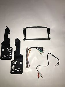 ACURA TL DOUBLEDIN DASH KIT AND SUB WOOFER AMPLIFIER - 2004 acura tl dash kit