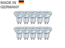 10 x OSRAM LED BASE PAR16 GU10 Strahler GLAS 36° 2700K 4.3W wie 50W