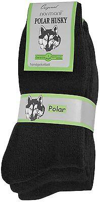 5 Paar POLAR HUSKY® Winter Norweger-Socken mit 80 /% Schafwolle