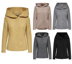 new styles 4dfb7 d3a70 Details zu ONLY Damen Jacke onlSEDONA SHORT JACKET OTW kurz Mantel Parka  Kapuze Übergang