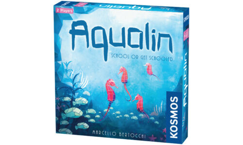 School or Get Schooled Aqualin a 2-player strategy game!