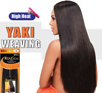 Straight Hair Weave Extension Yaki Heat Resistant Synthetic 20/30 Bijoux
