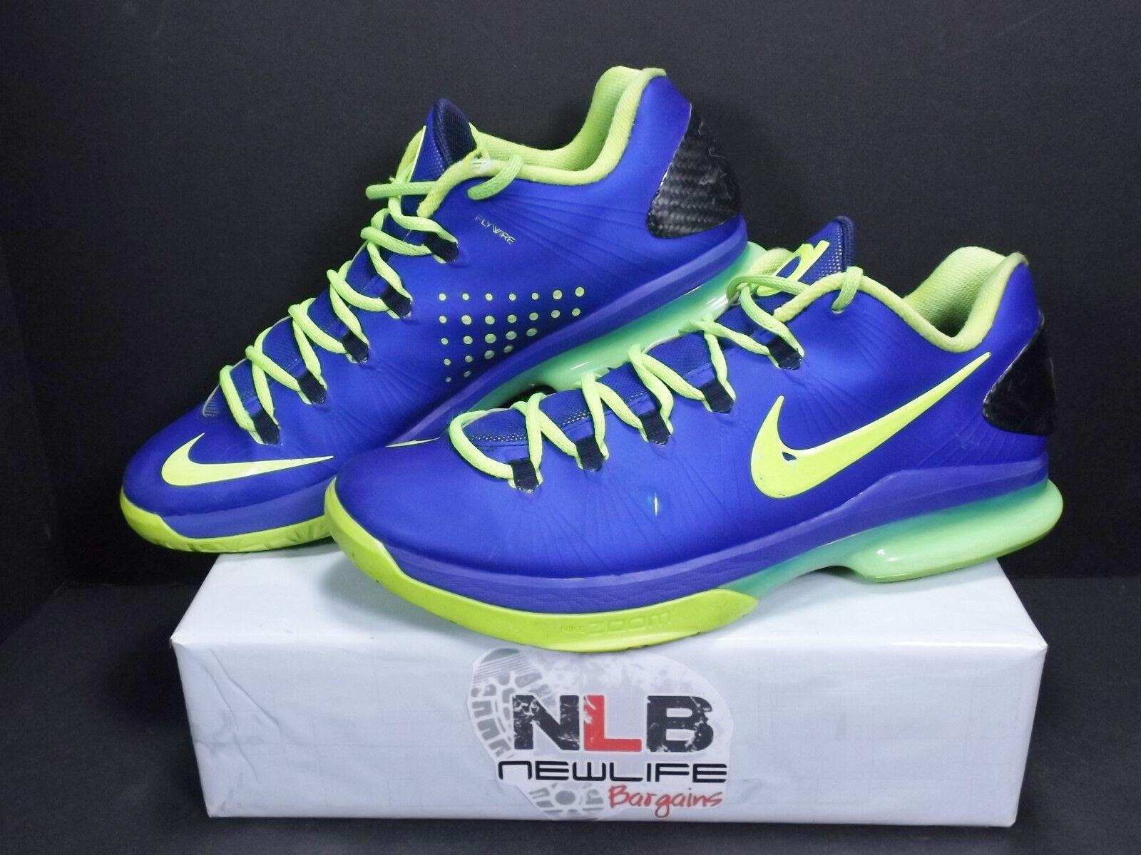 premium selection 1e6a7 efd7d Nike KD V 5 5 5 Elite Basketball 585386-400 Men s Shoes Size 11.5 Blue