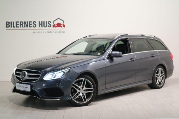 Mercedes E220 2,2 CDi Avantgarde AMG stc. aut. billede 0