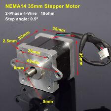 Nema14 35mm 2 Phase 4 Wire Stepper Motor Diy Reprap Cnc Prusa Rostock 3d Printer