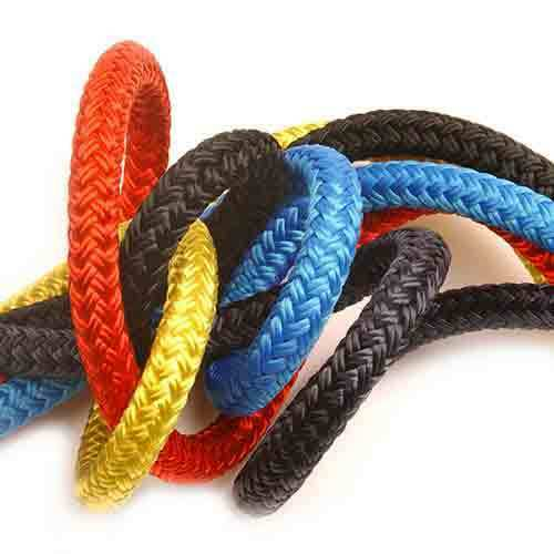 Doublebraid rope  Yacht rope  Various lengths, sizes and colours. 6mm-14mm