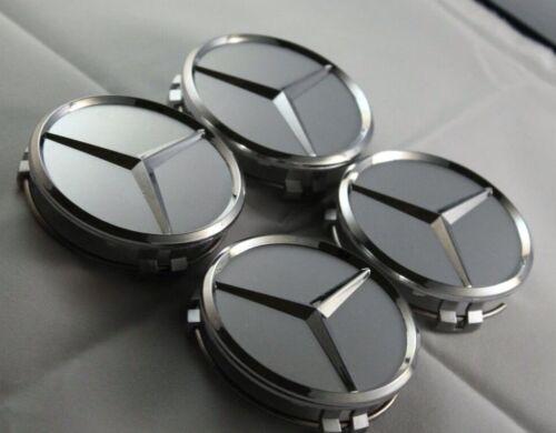 Set Wheel Centre Caps75mm Fit To Mercedes Benz Most Models