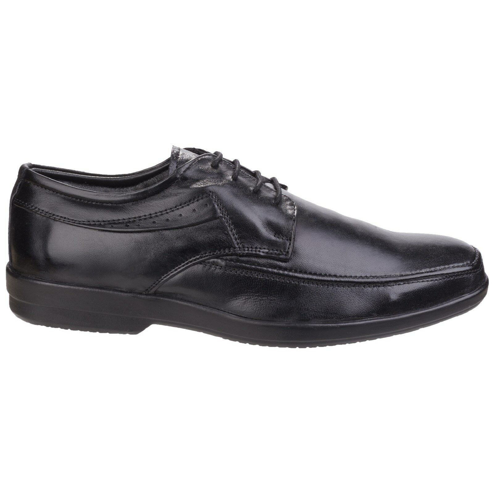 Fleet & Foster Dave 100% Leather Lace Up Oxford Mens shoes Formal uk