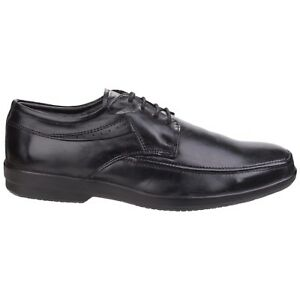b5253d455cef Details about Fleet & Foster Dave 100% Leather Lace Up Oxford Mens Formal  Shoes UK 6-12