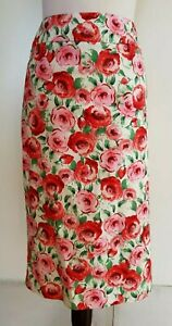 REVIEW-Pink-Floral-Skirt-Size-12
