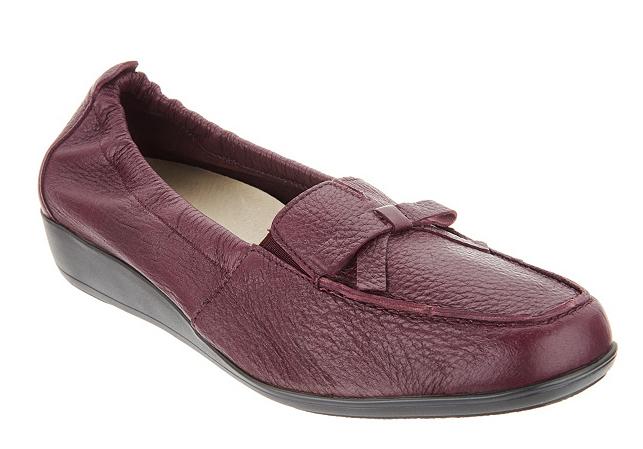 divertiti con uno sconto del 30-50% Vitaform Leather Loafers Aubergine Wine Comfort scarpe Donna Donna Donna  EU36 US 6 New  con il prezzo economico per ottenere la migliore marca
