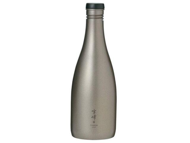 Snow Peak Sake (Liqueur) Récipient Carafe Flasque Titane Tw-540 540ml