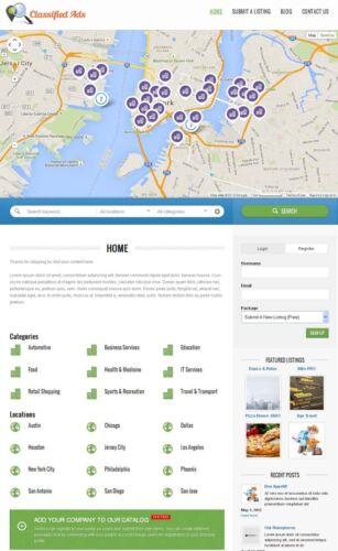 Premium Business Directory Portal Website