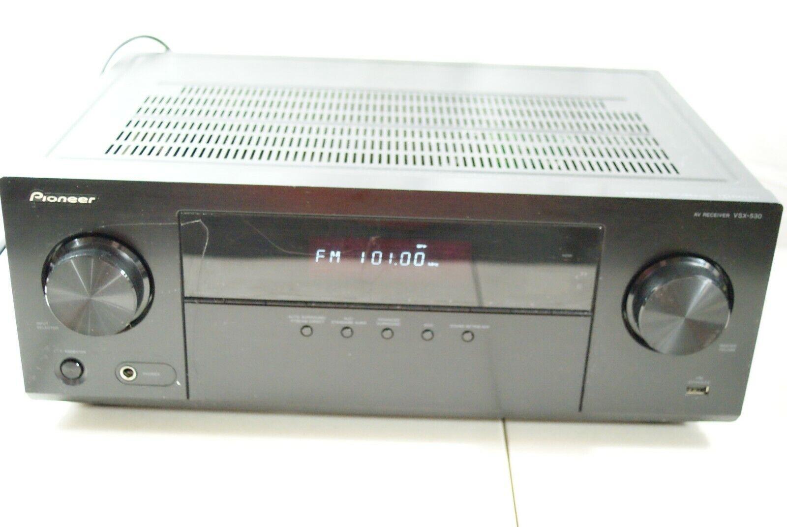 Pioneer VSX-530-K: Clear sound, Surround Sound, Built-in Bluetooth