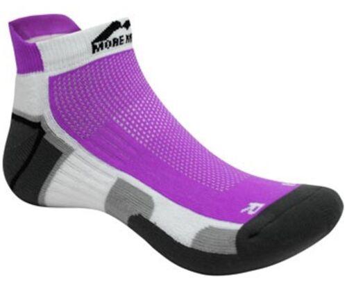 More Mile Laufsocke Miami Sneaker-Socke pink