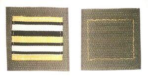 GALON-Grade-de-poitrine-HAUTE-VISIBILITE-du-Lieutenant-COLONEL-LEGION-ETRANGERE
