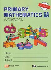 Singapore Math Primary Math Workbook 5A US Ed-FREE Expedited Shipping UPGD W $45