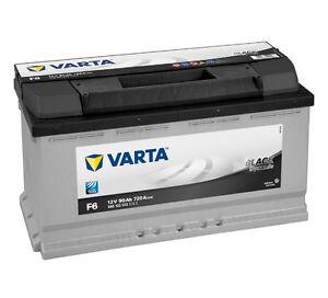 varta f6 59012207231322 car van battery type 017 12v 90ah 720a 3yrs wrnty ebay