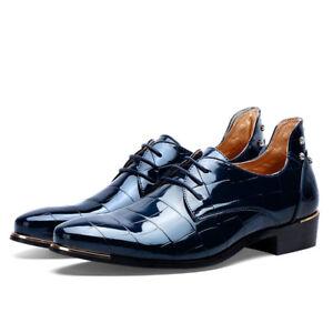 les en chaussures en les cuir robe officielle d'orteil occasionnels oxford c45c43