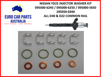 13 PIECE KIT NAVARA YD25DDTI Injector seal washer kit