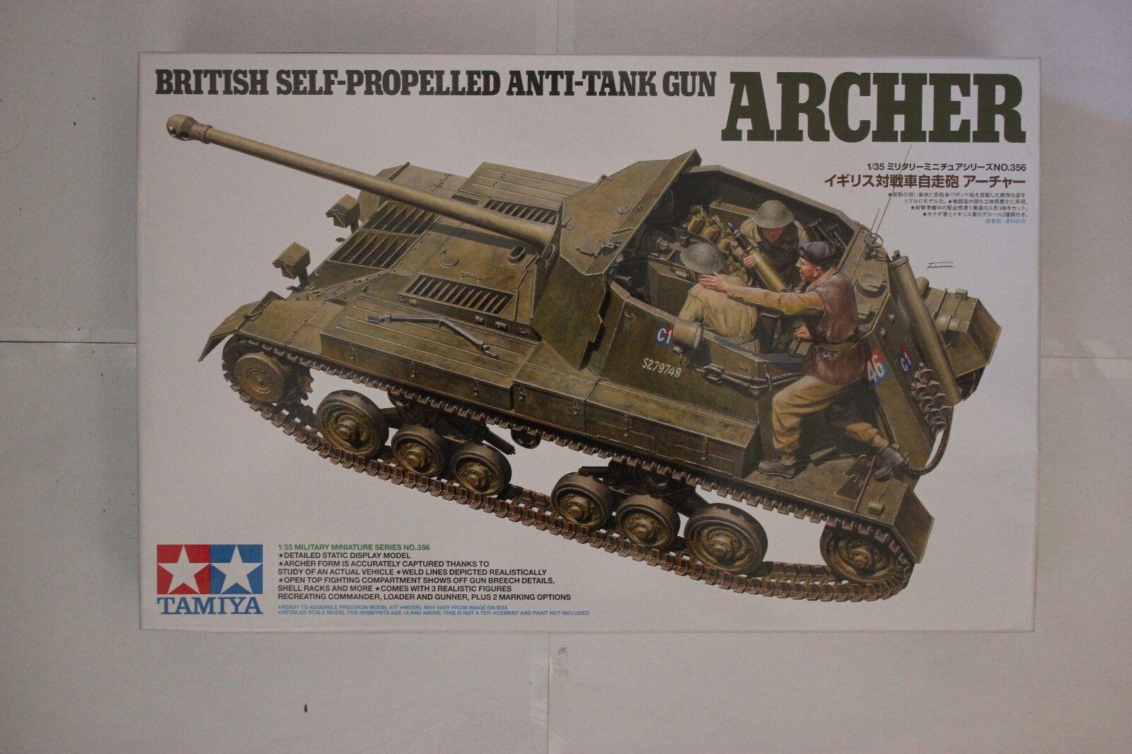 Tamiya 35356 British Self-Propelled Anti-Tank Gun ARCHER 1\35 Scale