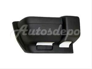 For 1997-2001 Jeep Cherokee Rear Bumper End Cap Textured Black Rh