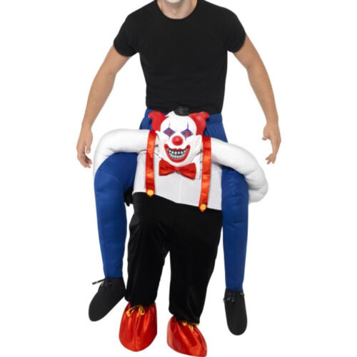 Details about  /Insidious Clown Mascot Costume Festival Party Ride on Outfit