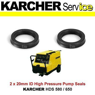 KARCHER HD HDS PRESSURE WASHER O RING PUMP SEALS KIT 580 650 745 750 755 1000