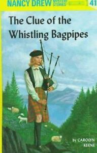 NEW-The-Clue-of-the-Whistling-Bagpipes-Nancy-Drew-by-Keene-Carolyn