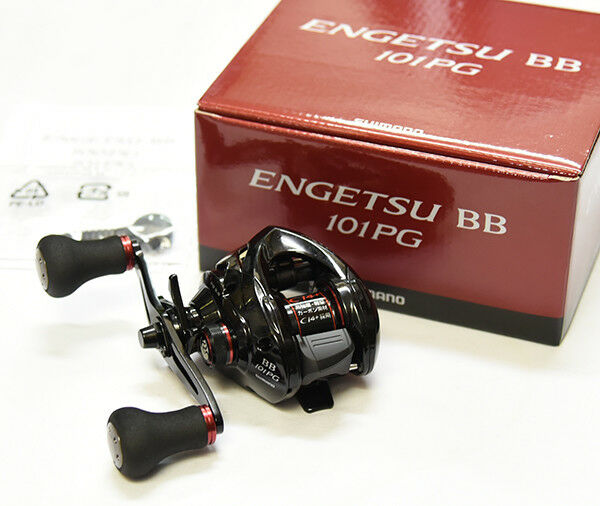 Shimano Casting ENGETSU BB 101PG (LEFT HANDLE) Bait Casting Shimano Reel f42a3d
