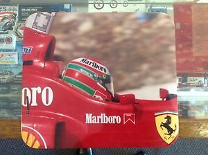 EDDIE-IRVINE-PHOTO-MOUSEPAD-IN-HIS-1999-FERRARI