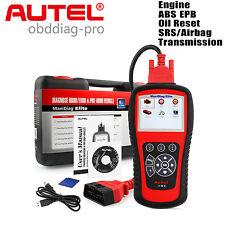 Autel MaxiDiag Elite MD802 4 System OBD2 Diagnostic Scanner Code Reader ABS SRS