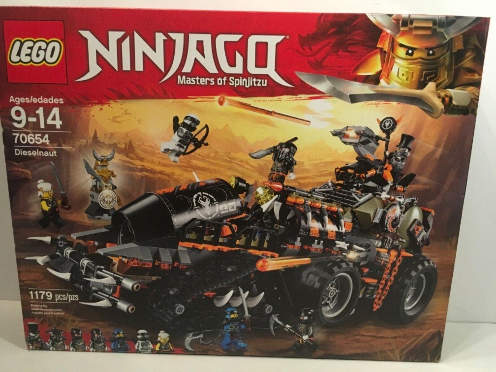 LEGO LEGO LEGO Ninjago 70654 Dieselnaut New Sealed bdf43b