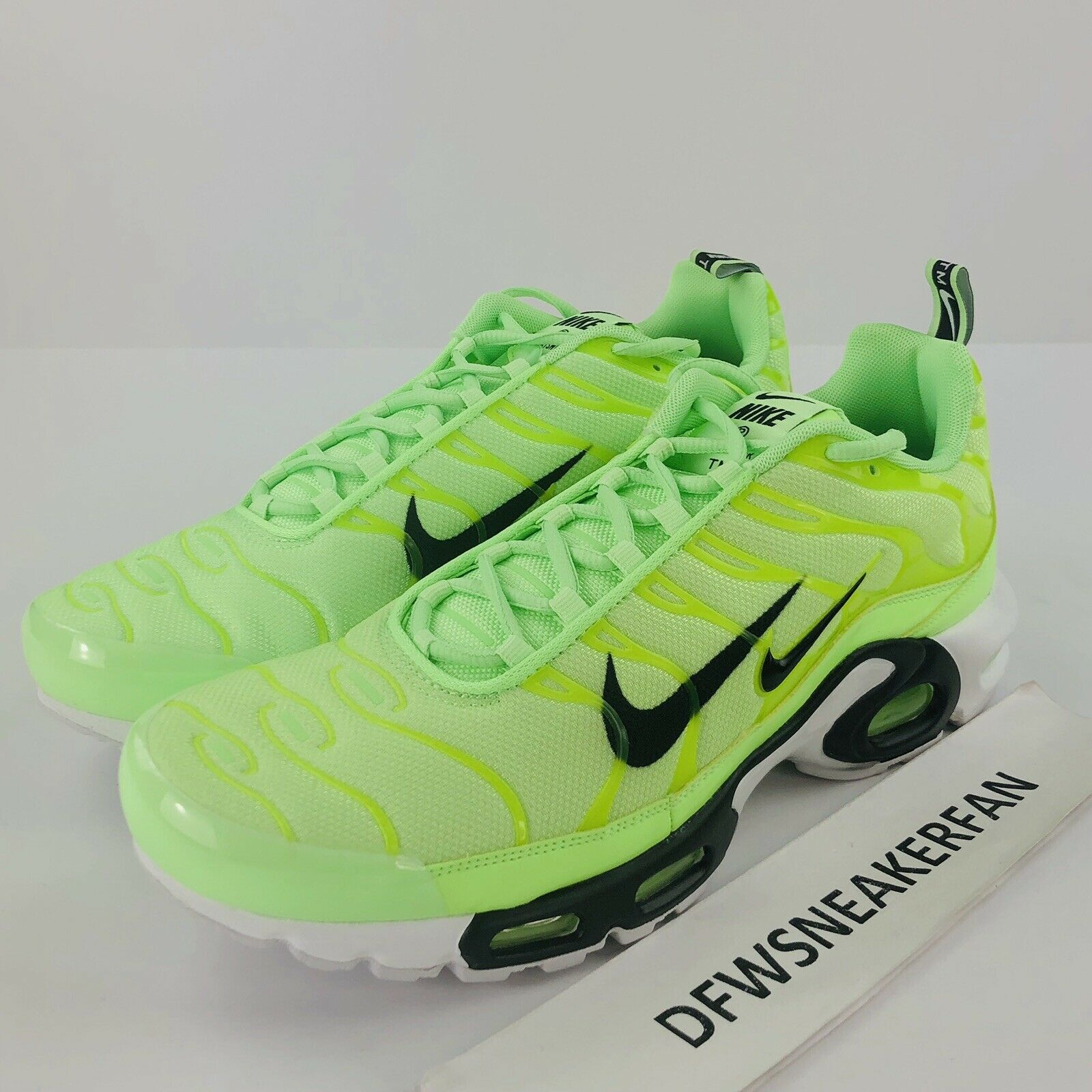 Nike Air Max Plus PRM TN Lime Blast Men SZ 13 Running Sneakers 815994 300 New