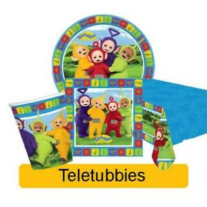 Teletubbies birthday party range-children table balloons decorations supplies