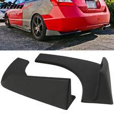 Universal Fit Front Rear Bumper Lip Splitters Winglets Canards 30x4 Inch 2PC PP