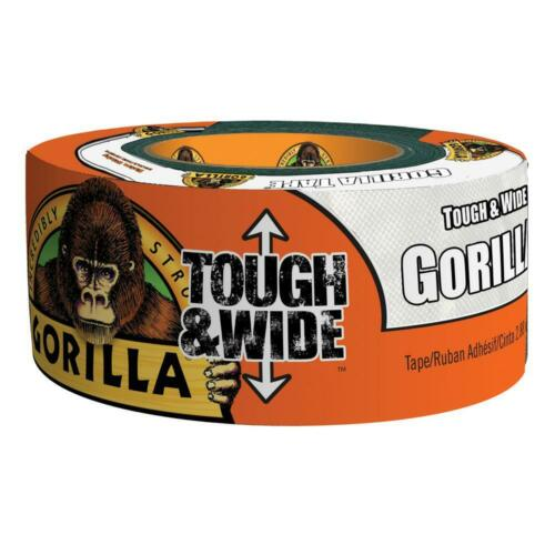 X 25 Yd White Tough And Wide Tape Gorilla 2.88 In 4-Pack