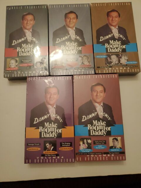 Classic Television THE DANNY THOMAS SHOW Vol 1-5 VHS NEW