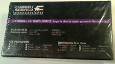 "Campbell Hausfeld Senco Stan-Tech  3/8"" Crown x 5/8"" Length 22 Gauge Staples"