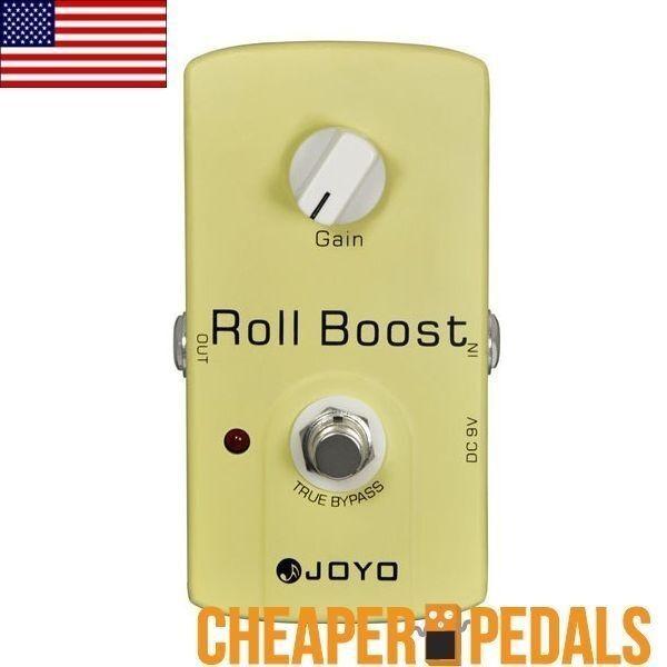 Nuevo JOYO Rollo Rollo Rollo Boost JF-38 Efectos Guitarra Pedal de refuerzo  envío Gratuito  9fd7cf