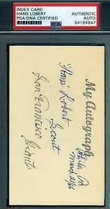 Hans-Lobert-PSA-DNA-Cert-Autograph-Hand-Signed-3x5-Index-Card